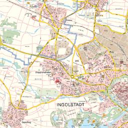 Stadt Ingolstadt Stadtplan